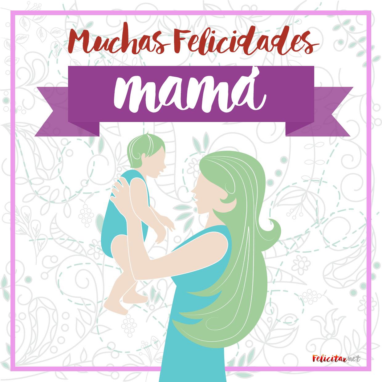 tarjeta para felicitar el dia de la madre
